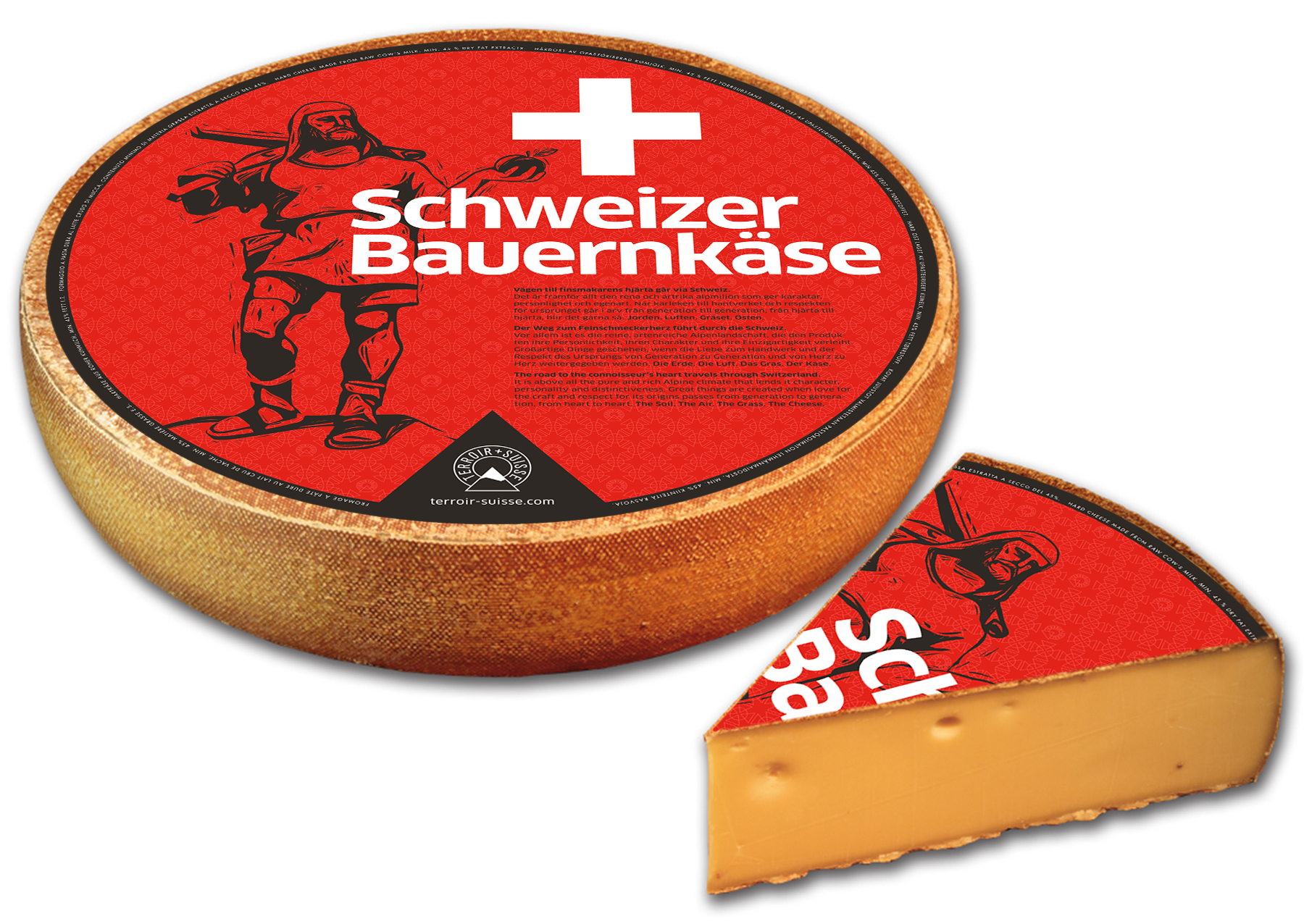 Designconcept Swiss Cheese
